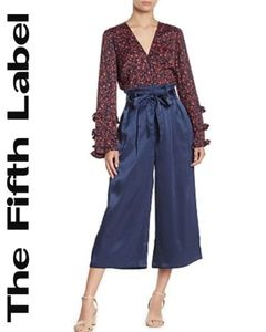 The Fifth Label Estella Satin Wide Leg Pants NWT!